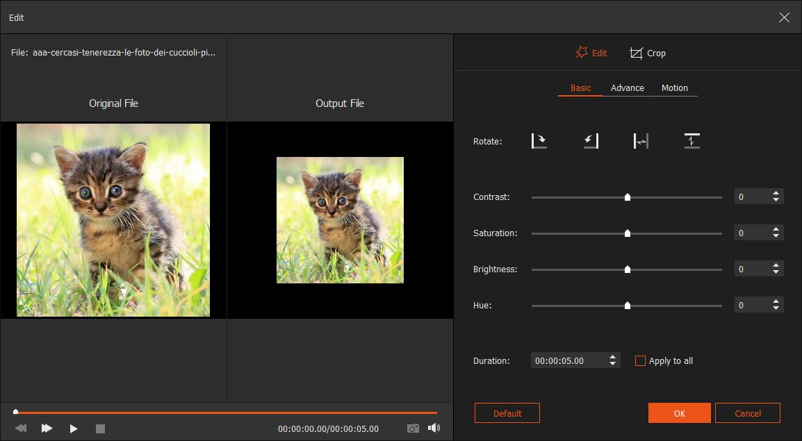 how to make music slideshow on windows 10